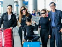 Hồ Ngọc Hà đưa gia đình cùng đi lưu diễn tại Mỹ