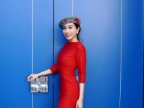 'Hoa hậu Châu Á quốc tế' tại Mỹ Saila Nguyễn tái xuất bắt mắt với tone đỏ rực