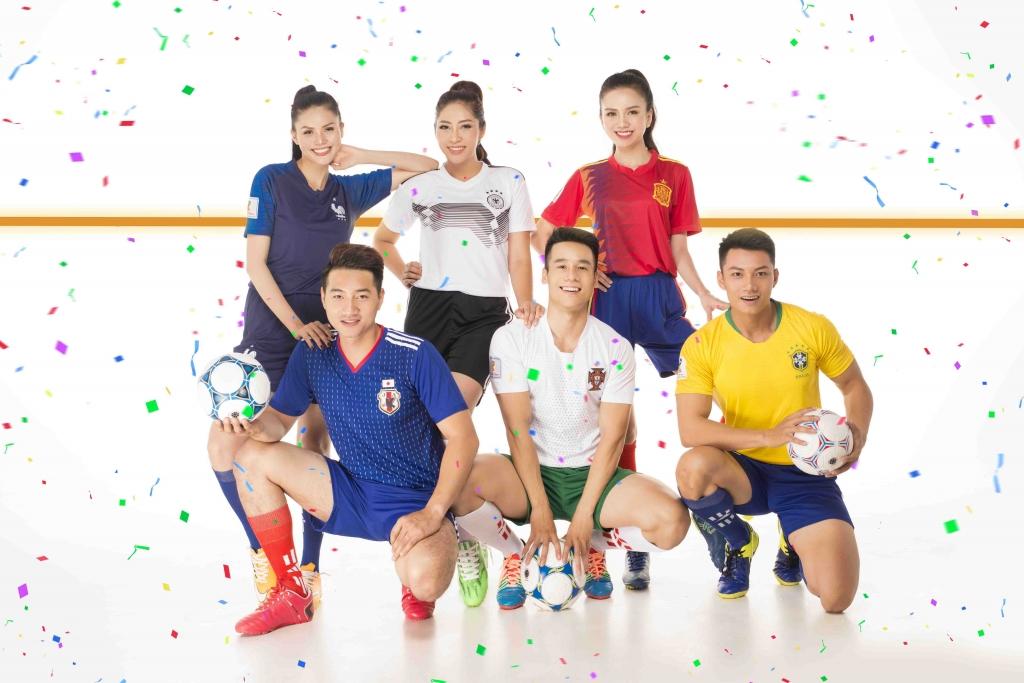 dan nam vuong hoa hau hao hung don world cup 2018