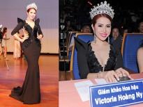 Hoa hậu Victoria Hoàng Ny gặp sự cố về sức khỏe khi ngồi 'ghế nóng' tại Đài Loan