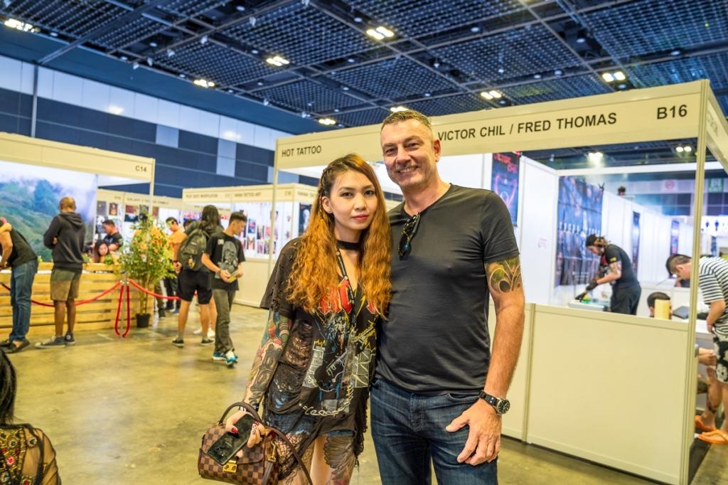 danis nguyen nghe si xam minh viet dat con mua giai thuong tai singapore ink show