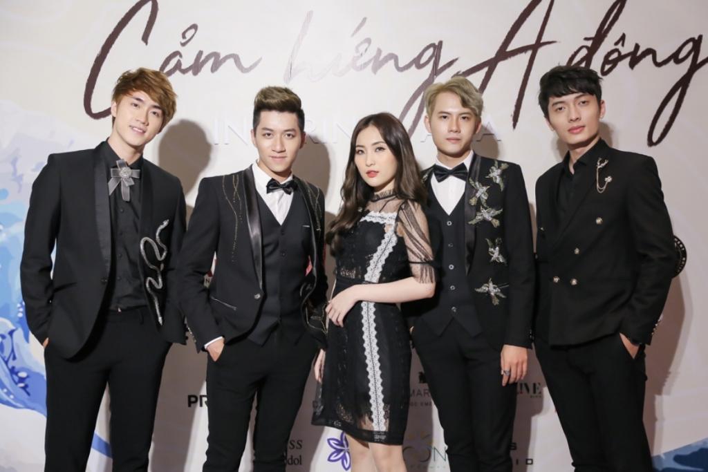 dan sao hoi ngo tai press choice awards 2018 cam hung a dong
