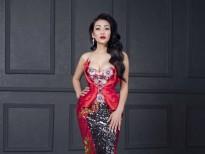 'Người hát tình ca' Minh Thu lộng lẫy trong trang phục của NTK Lê Long Dũng