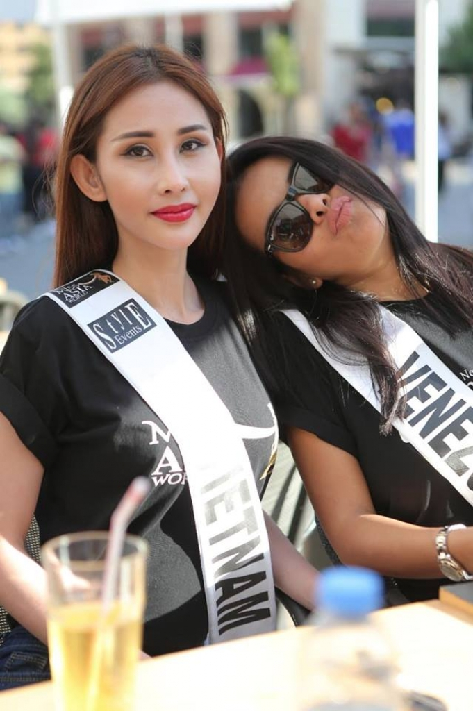 vai gio truoc chung ket miss asia world 2018 chi nguyen bat ngo bi cat nat trang phuc dan toc