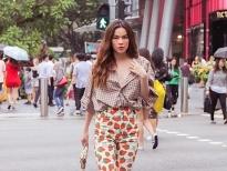 ho ngoc ha khoe street style tre trung trong chuyen cong tac tai singapore