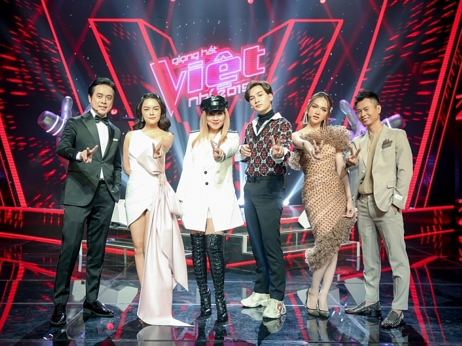 huong giang pham quynh anh duong khac linh ngoi ghe nong the voice kids 2019