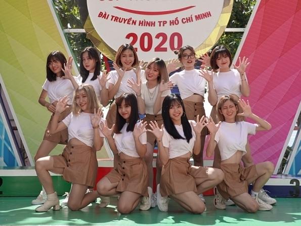 o2o girl band khuay dong san khau nha trang tai giai dua xe dap cup truyen hinh tp hcm 2020