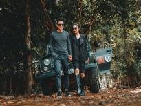 Lý Hải - Minh Hà chụp ảnh kỷ niệm 10 năm cưới nhau