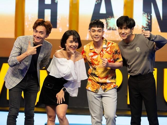 Thái Trinh đáng yêu bên Tuấn Kiệt trong gameshow trí tuệ