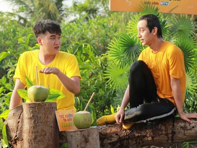 'Trí khôn ta đây': Huỳnh Nhu 'hại'Phúc Zelo nhảy sông liên tục