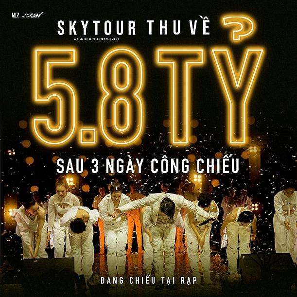 sky tour movie xac lap ky luc khong tuong cho dong phim tai lieu am nhac