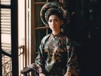 Thùy Trang khoe vẻ đài các trong hình ảnh của Nam Phương Hoàng hậu