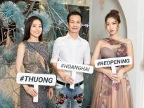 Không hẹn mà gặp, 3 'Hoa hậu Việt Nam' hội ngộ tại showroom của NTK Hoàng Hải