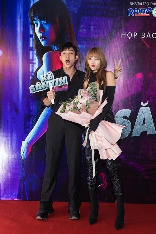 minh hang xinh dep goi cam ra mat web drama ke san tin