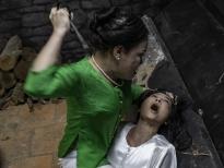 Quỳnh Lam khóc đến... chảy máu mũi trong 'Dương thế bao la sầu'