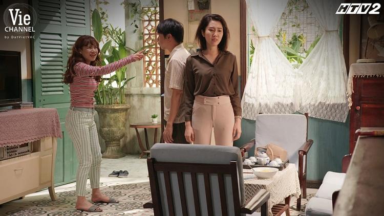 'Cây táo nở hoa' tập 28: Châu lĩnh trọn cú tát từ mẹ chồng tương lai, Phong quỳ gối van xin mẹ cho phép cưới