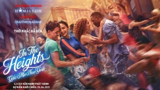 Hàng loạt sao hạng A phát cuồng với 'In the Heights: Giấc mơ New York'