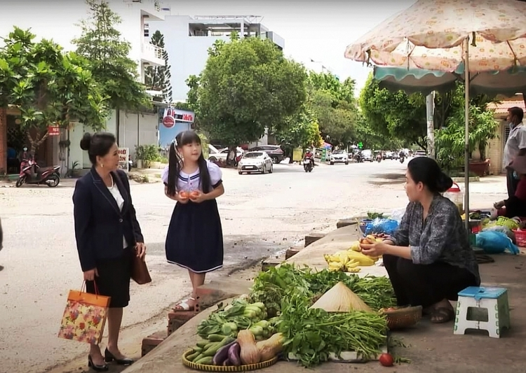 NSND Kim Xuân và diễn viên nhí Mai Vy khiến người xem rơi nước mắt trong 'Công chúa nhỏ của nội'