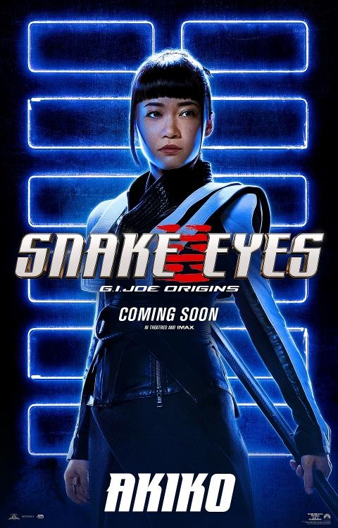 Bom tấn hành động 'Snakes Eyes: G.I.Joe Origins' hé lộ tạo hình nhân vật của 'trai đẹp' Henry Golding và dàn ninja cực ngầu