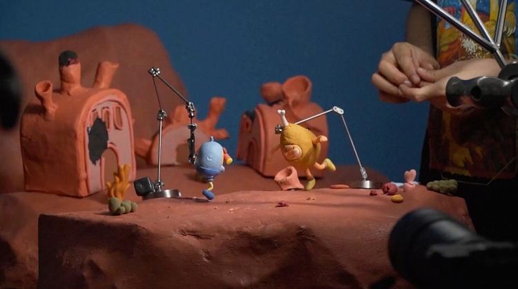 Chính thức ra mắt bộ phim hoạt hình đất sét đề tài siêu anh hùng 'Cuộc chiến của PO'