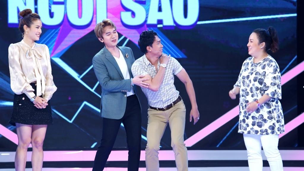 'Sàn đấu ngôi sao': Phương Trinh Jolie, Hồ Việt Trung, Lê Trang 'bắn rap' cực sung khiến Minh Xù tá hỏa