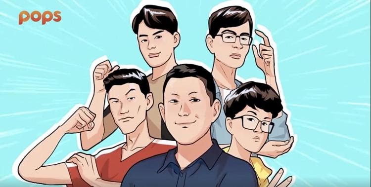 Moving toon 'Kế hoạch sống còn của team thầy Ba' tập 1 khiến fan cười nắc nẻ
