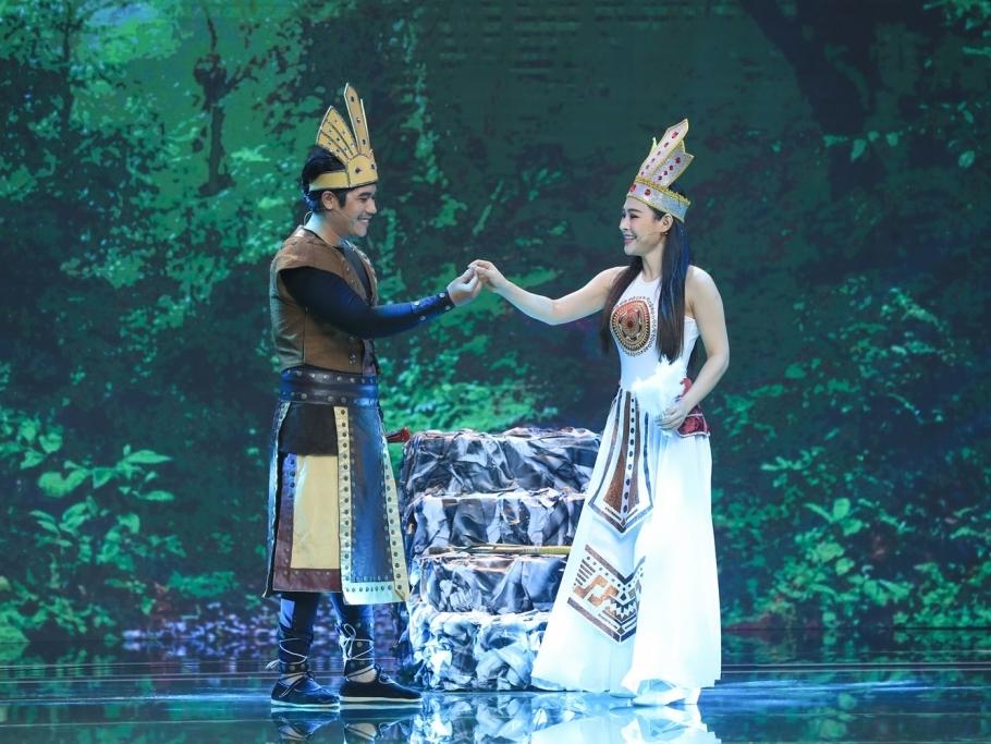 Bùi Công Danh oai hùng hóa Cao Thục, diễn xuất thần tại đêm chung kết 'Sao nối ngôi'