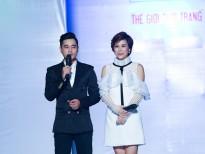 MC Ngọc Vy duyên dáng sánh đôi cùng MC Bá Niên dẫn show thời trang