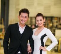 Khôi Trần khoe vẻ điển trai cạnh người đẹp Lã Thanh Huyền