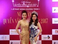 Hoa khôi Thu Hương tìm kiếm Nữ hoàng Quyền năng phái đẹp 2017
