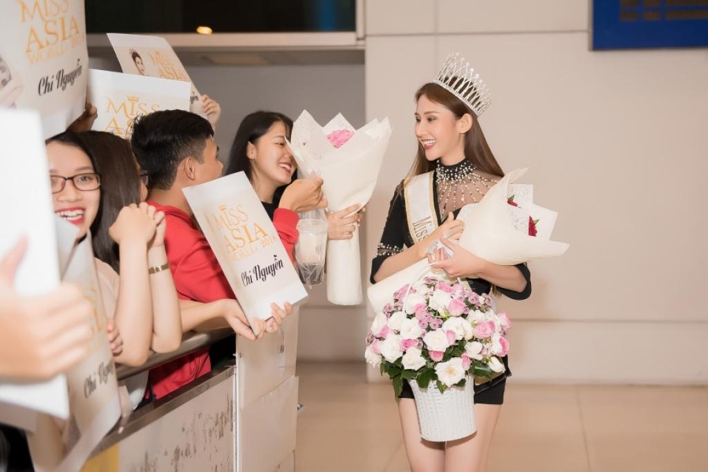 hoa hau chi nguyen rang ngoi ngay tro ve ket thuc hanh trinh gan 1 thang tai miss asia world 2018
