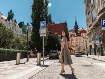 Mai Thanh Hà khoe phong cách street style ấn tượng trên đường phố châu Âu