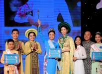 Nữ sinh 13 tuổi Vũ Trần Bảo Nguyên đăng quang Gương mặt 'Đại sứ áo dài ViệtNam' bảng Thiếu niên - Thiếu nhi