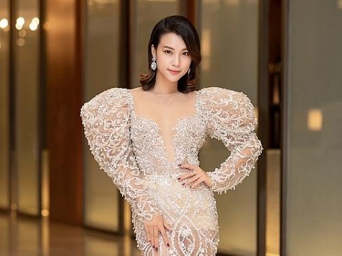 hoang oanh ghi diem tai le hoi korea viet nam fashion festival awards 2019