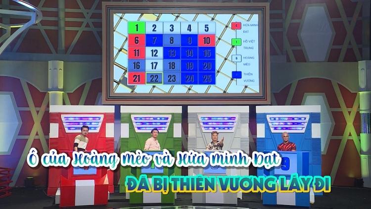 ho viet trung dut bo tinh anh em loi nguoc dong trong gameshow tri tue cuc hot dai chien tu sac attack 25