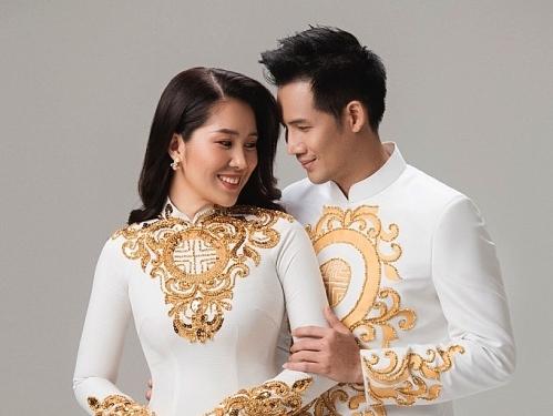 le phuong thanh thuc hoa doi uyen uong trong trang phuc ao dai minh chau