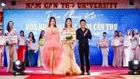 Hoa hậu Phan Thị Mơ làm giám khảo 'Hoa khôi đại học Nam Cần Thơ'