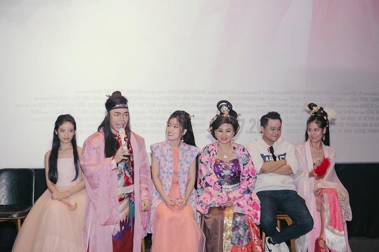 dam vinh hung ly nha ky truong giang chuc mung le duong bao lam ra mat web drama dau tay