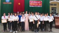 Hoa hậu Huỳnh Vy khánh thành cầu, trao học bổng cho huyện Lấp Vò - Đồng Tháp