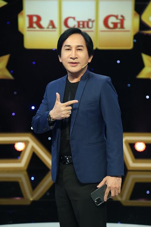 NSƯT Kim Tử Long 'so bì' nhan sắc với vũ công Lâm Vinh Hải tại 'Úm ba la ra chữ gì?'