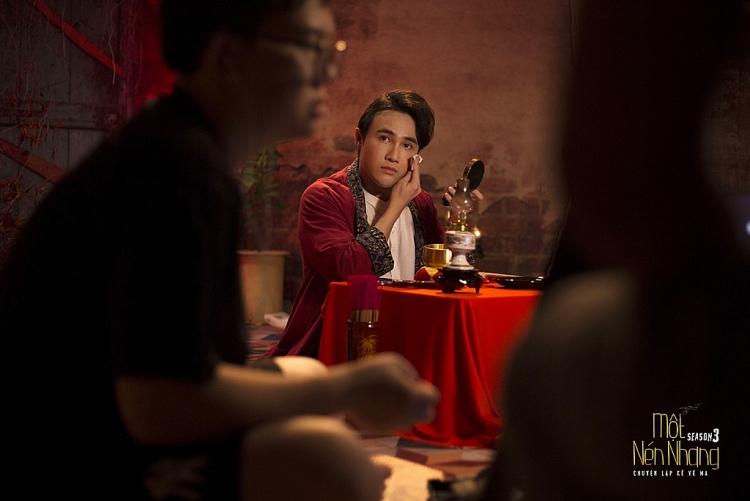 Huỳnh Lập nhá hàng 'Một nén nhang' mùa 3 lúc nửa đêm khiến khán giả bấn loạn