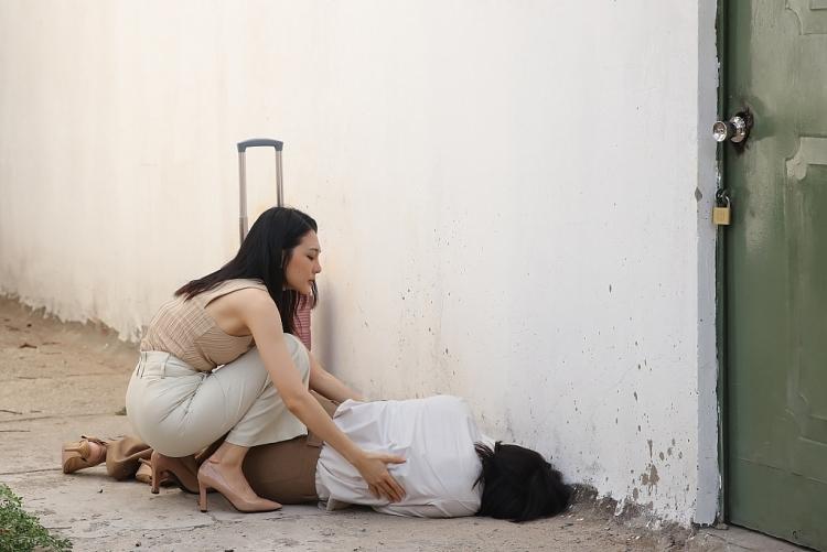 'Vợ hai' tập 3: Diễm Trần 'phim giả tình thật' với bạn diễn sau loạt cảnh nóng