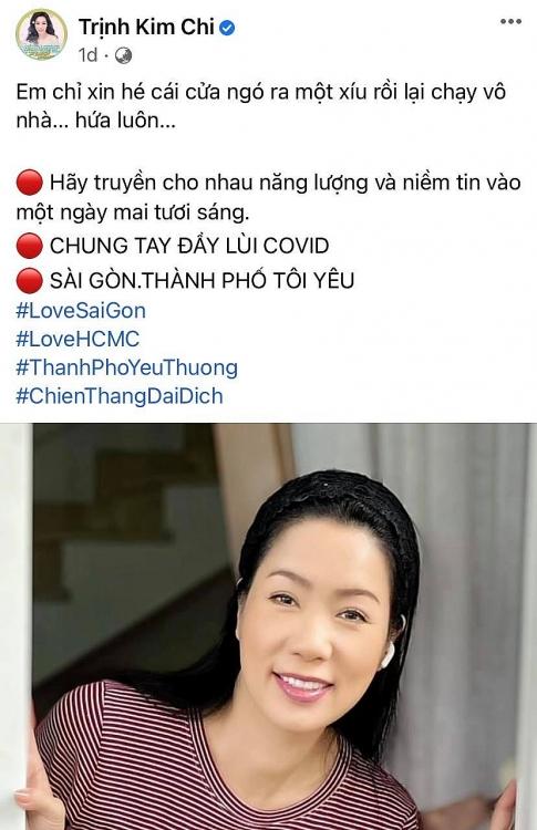 Đàm Vĩnh Hưng, Trấn Thành, Hồ Ngọc Hà cùng hàng trăm nghệ sĩ Việt kêu gọi khán giả lan tỏa năng lượng tích cực cho thành phố