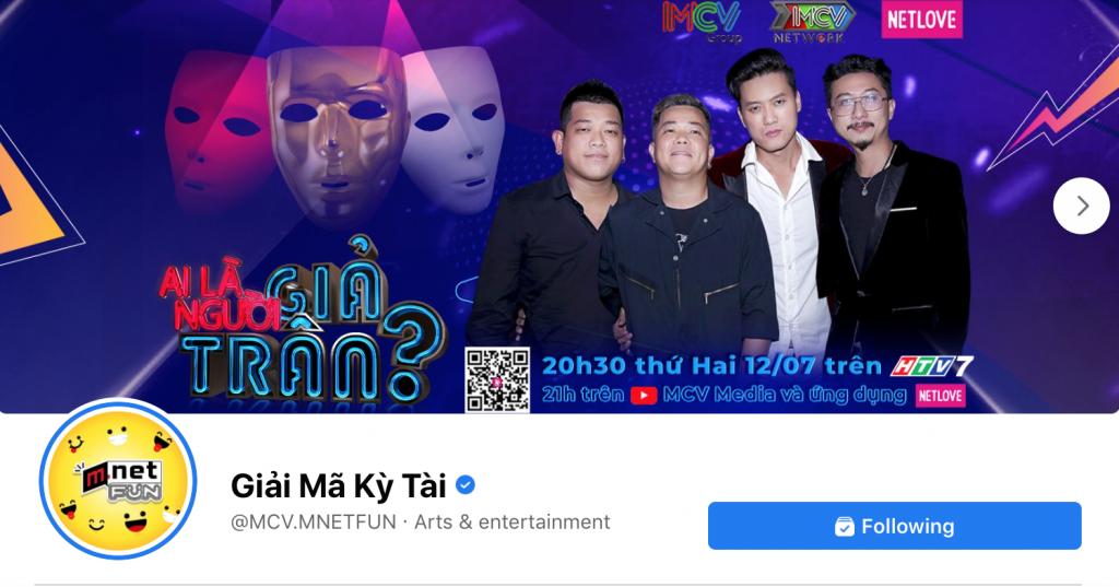 Nhà sản xuất và phát hành MCV Group mở rộng cổng phát hành nội dung trên Facebook