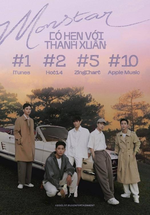 ST.319 Entertainment xác nhận Monstar tan rã, MV comeback 'Có hẹn với thanh xuân' cũng là MV cuối cùng