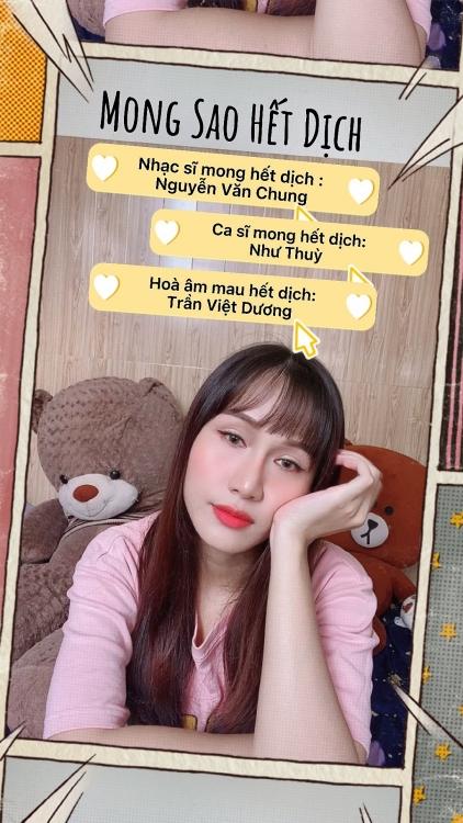 'Mong sao hết dịch' của Nguyễn Văn Chung và Như Thùy tiếp thêm niềm tin vào ngày mới
