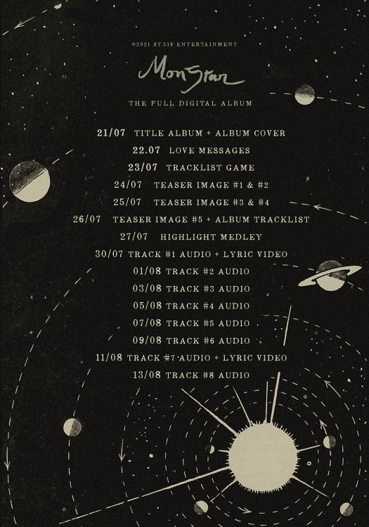 ST.319 Entertainment thông báo về album cuối cùng của Monstar, Fan meeting hoãn vô thời hạn vì Covid-19