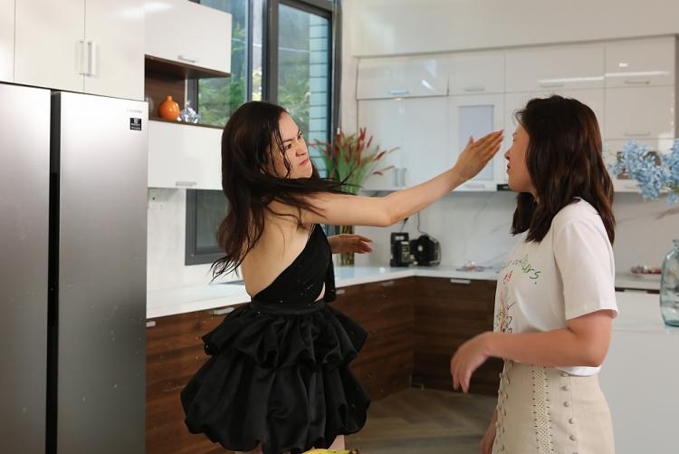 'Vợ hai': Diễm Trần và bạn diễn đánh nhau khiến khán giả 'hoảng'