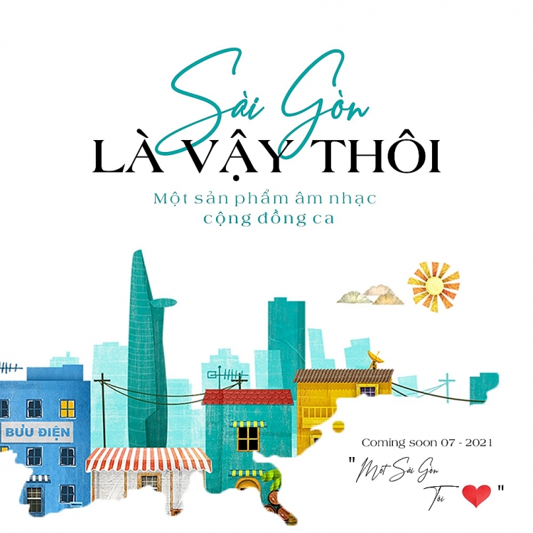Nghệ sĩ Việt chung tay cùng nhạc sĩ Ngô Minh Tài thực hiện ca khúc 'Sài Gòn là vậy thôi'