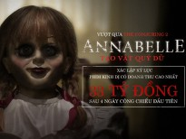 annabelle creation dat doanh thu ky luc phim kinh di 33 ty dong sau 4 ngay cong chieu